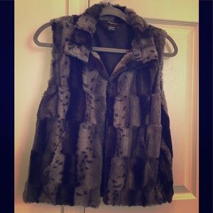 Trendy Faux Fur Vest
